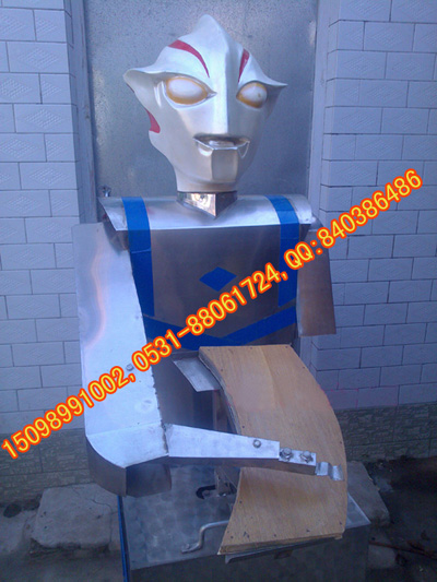 机器人刀削面机 刀削面机机器人 奥特曼刀削面机