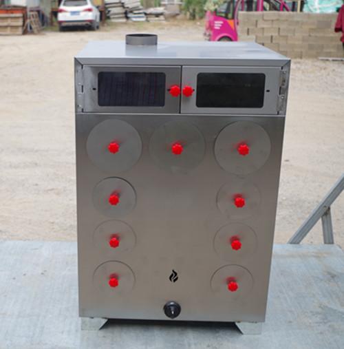 全不锈钢9孔烤地瓜炉