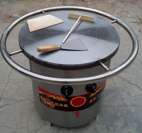 直径45公分燃气煎饼炉上市