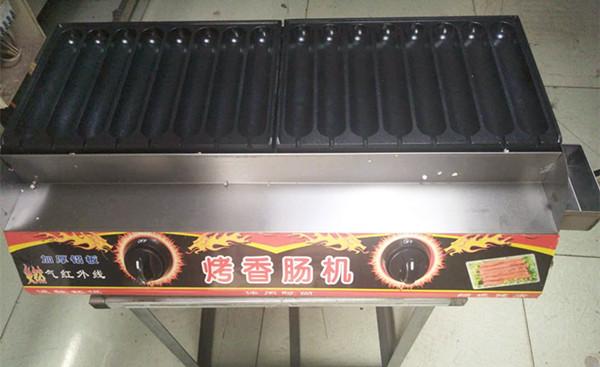 16管秘制燃气烤肠机