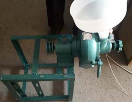 时产量30斤卧式芝麻酱机