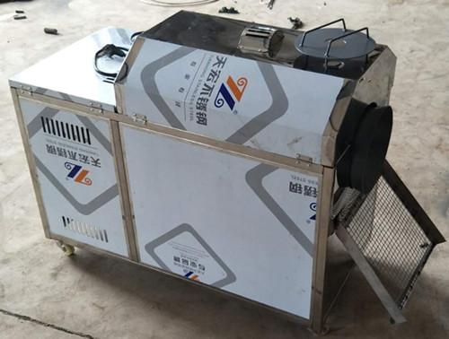 多功能25型煤气炒货机,直流交流两用炒板栗机