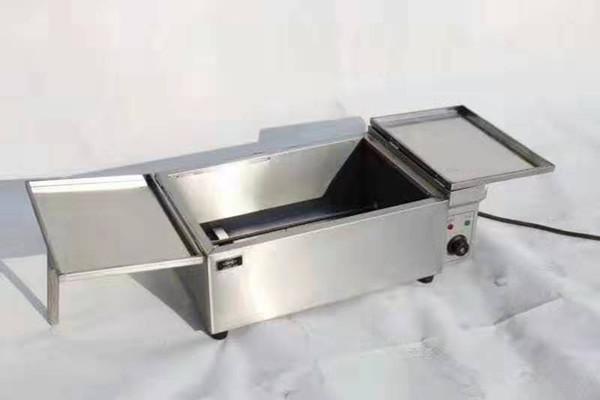 卧式电加热油炸锅