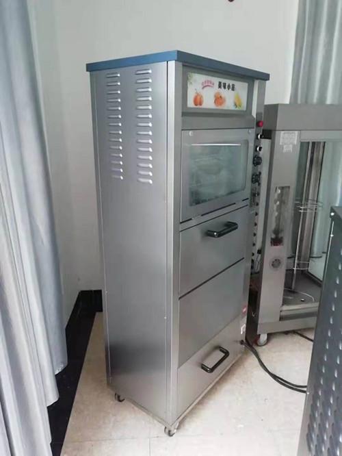 带字幕金属管168型全电烤地瓜炉