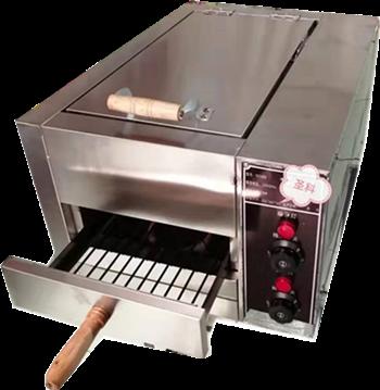 电加热单抽屉烧饼炉
